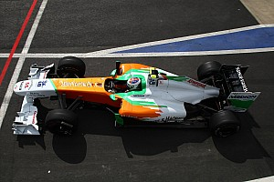Force India German GP - Nurburgring Qualifying Report