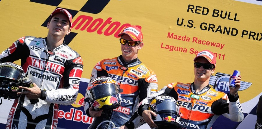 Repsol Honda Takes A MotoGP Double Podium At US GP