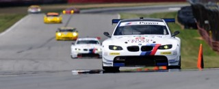 ALMS BMW Team RLLTake GT Front Row For ALMS Mid-Ohio Qualifying