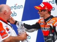 Repsol Honda celebrates 1-2 finish in Czech GP
