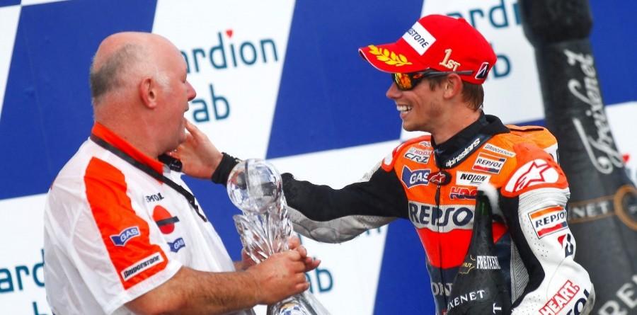 Repsol Honda celebrates 1-2 finish in Czech GP