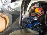 Kimi Rikknen enjoyed his test in the Peugeot 908