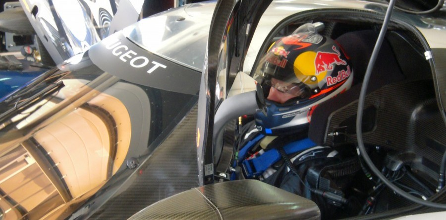 Kimi Räikkönen enjoyed his test in the Peugeot 908
