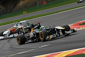 Formula 1 Team Lotus Belgian GP - Spa race report