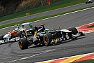 Team Lotus Belgian GP - Spa race report