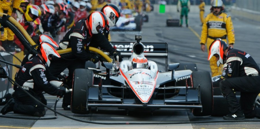 Team Penske Baltimore race report