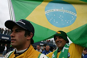 Brazilian Nasr eyes Formula One with Raikkonen's manager