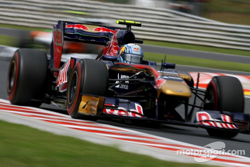 Toro Rosso Italian GP - Monza Friday practice report