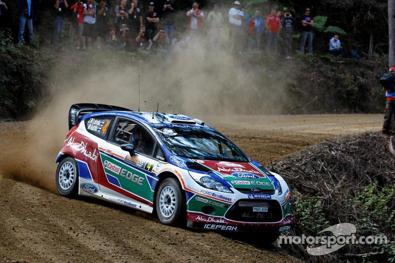 Series Rally Australia leg 2 midday report