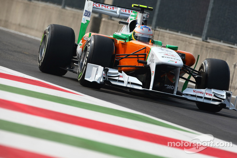 Force India Italian GP - Monza race report