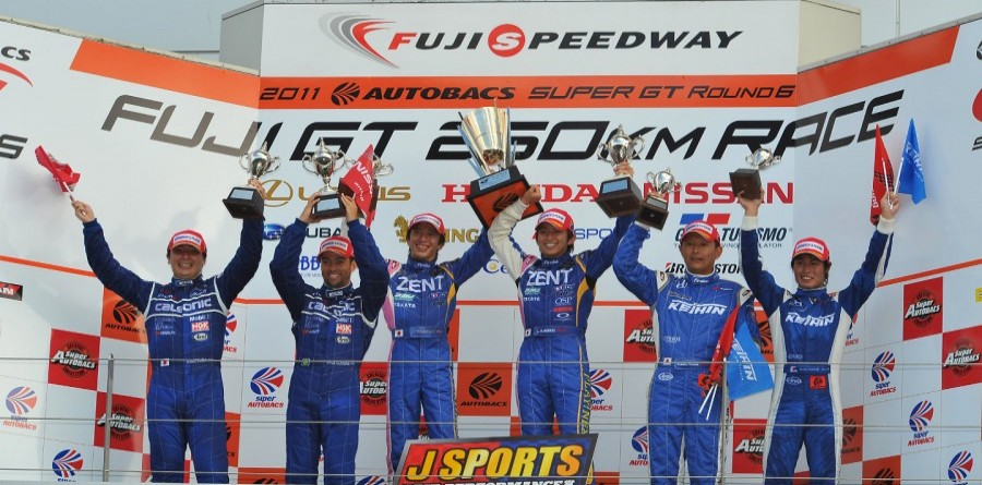 Zent Cerumo Lexus charges to Fuji GT victory