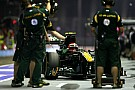 Team Lotus Singapore GP qualifying report