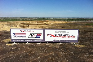 Construction delayed at 2012 US GP circuit