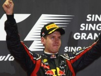 Vettel victorious in Singapore GP mayhem