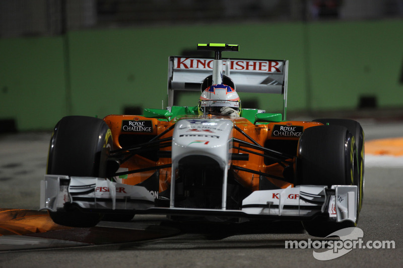 Force India Singapore GP race report