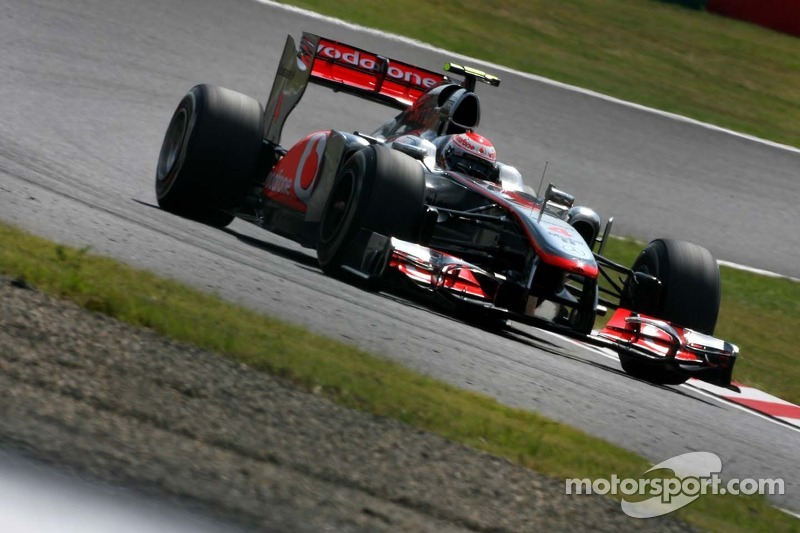McLaren Japanese GP - Suzuka qualifying report