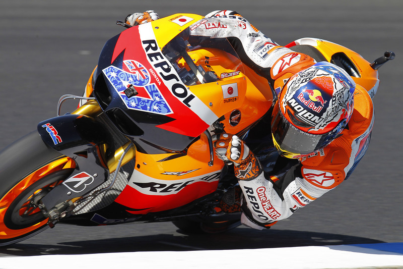 Repsol Honda Australian GP Friday practice report