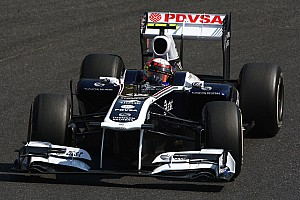 Formula 1 Williams Indian GP Friday practice report