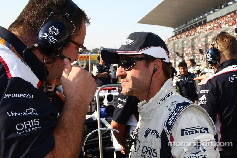 Williams Indian GP Friday practice report