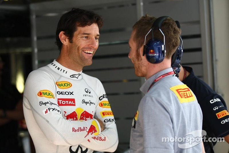 Webber 'not satisfied' with push for second place