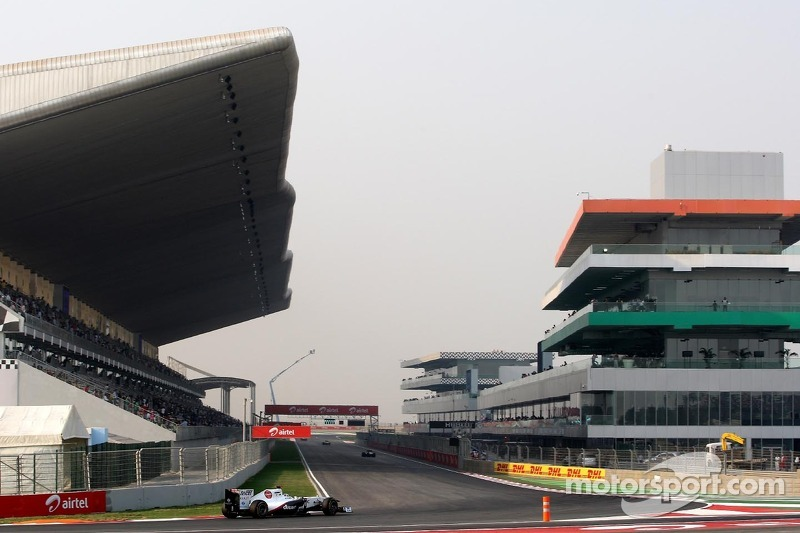 Sauber Indian GP qualifying report