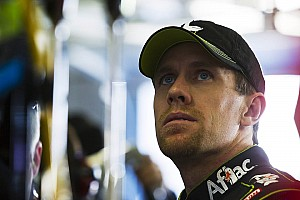 NASCAR Sprint Cup Carl Edwards, point leader, visits the media at Phoenix II