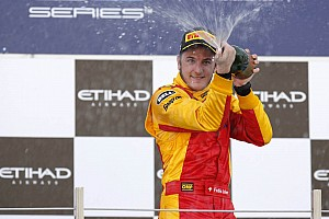 GP2 Leimer dominates Feature race at Abu Dhabi on Yas Marina Circuit