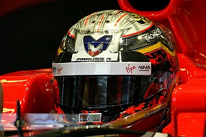 Marussia Virgin Abu Dhabi GP race report