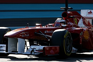 Ferrari Abu Dhabi young driver test Wednesday report
