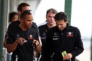 Formula 1 McLaren Mercedes bids a fond farewell to Pedro de la Rosa