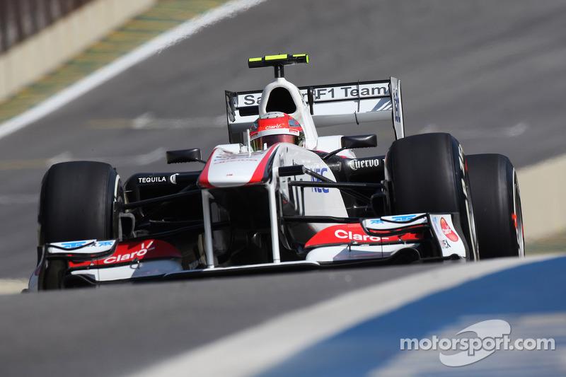 Sauber Brazilian GP qualifying report