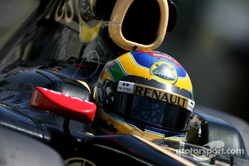 Lotus Renault Brazilian GP qualifying report