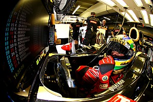 Formula 1 Lotus Renault Brazilian GP race report