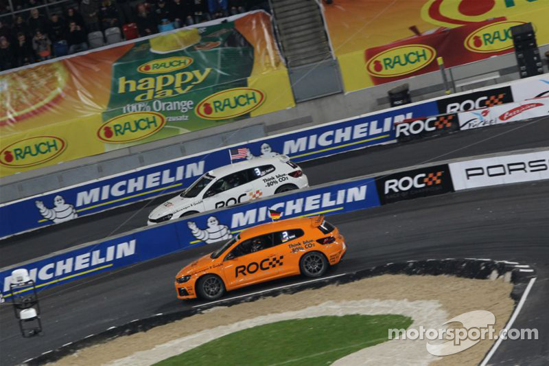 Volkswagen brings Scirocco R-Cup to Race of Champions