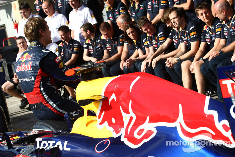 Vettel, Red Bull in running for Laureus prizes