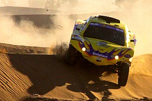 Cross-Country Rally Delahaye quickest on stage 3 but Schlesser keeps Africa Eco race lead