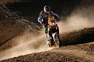 Dakar Series stage 8 report