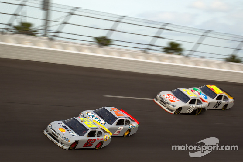 Series Daytona pre-season test notes, day 1