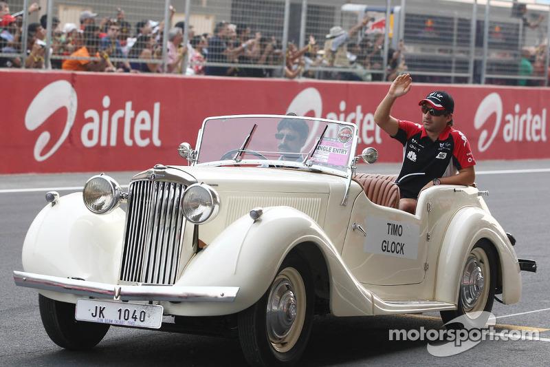 2012 Marussia car delay 'a shame' - Glock