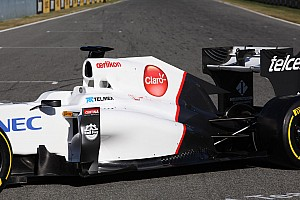 Sauber team launches C31 in Jerez