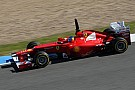 New Ferrari '20pc ready' after Jerez test - Alonso 