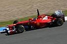 New Ferrari '20pc ready' after Jerez test - Alonso