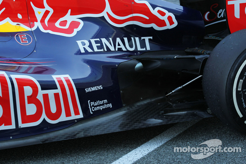 Red Bull has 'clever' exhaust solution - Caubet