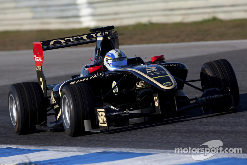 Vainio dominates day two of GP3 test in Estoril