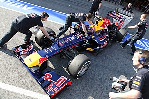 Red Bull Barcelona test II -  Day 1 report