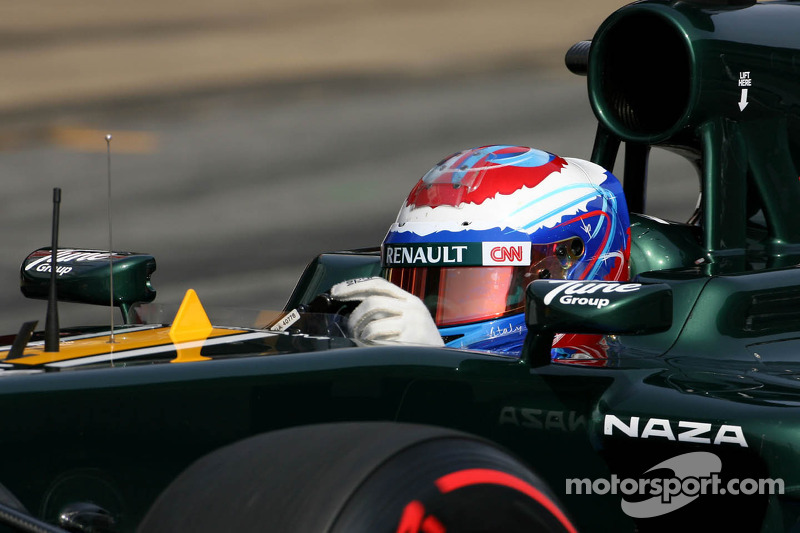 Petrov 'as good as Trulli' says Caterham boss
