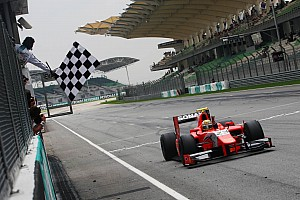 GP2 Razia beats Valsecchi for race 1 victory in Sepang