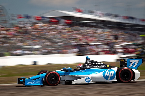 Pagenaud filling in gaps in his racing knowledge at Barber