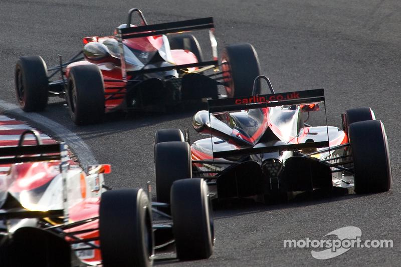 Historic Monza plays host to British openwheel