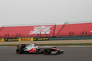 McLaren Chinese GP - Shanghai qualifying report